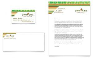 Carte de vizita grafica model ILY-STKL-9842. Grafica carti de vizita model Lawn Care & Mowing