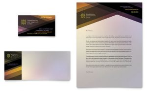 Carti de vizita online model ILY-CRM-9520. Grafica carti de vizita model Rehab Center