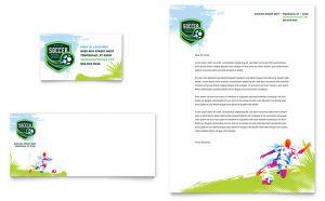 Carti de vizita online gratis model ILY-STKL-9624. Grafica carti de vizita model pentru tineret de fotbal