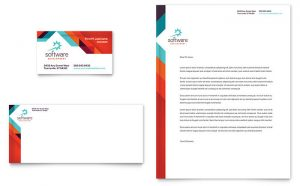 Carti de vizita standard model ILY-CRM-9516. Grafica carti de vizita model Aplicație Software Developer
