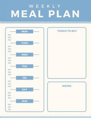 Design meniu restaurant Vegetarian ILY-CANV-10840