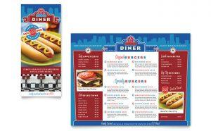 Grafica meniu restaurant American ILY-STKL-23227