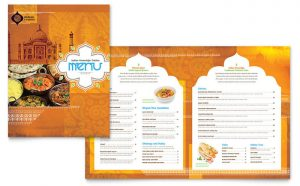 Grafica meniu restaurant Cafenea ILY-STKL-23197
