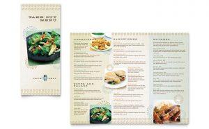 Grafica meniu restaurant Cafenea ILY-STKL-23229