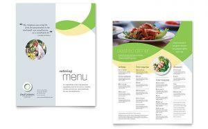 Meniuri personalizate restaurant Fast Food ILY-STKL-23195