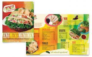 Meniuri personalizate restaurant Mexican ILY-STKL-23210