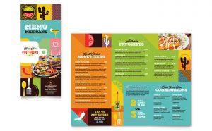 Meniuri personalizate restaurant Mexican ILY-STKL-23215