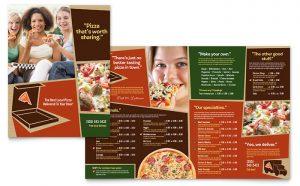 Meniuri personalizate restaurant Pizza ILY-STKL-23205