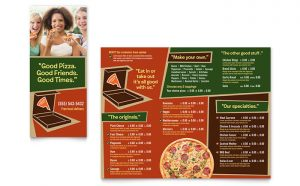 Meniuri personalizate restaurant Pizzarie ILY-STKL-23225