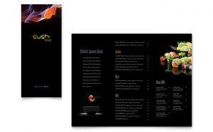 Meniuri personalizate restaurant Sushi ILY-STKL-23220