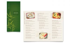 Printare meniuri de restaurant Asiatic ILY-STKL-23228