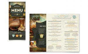 Printare meniuri de restaurant Berarie ILY-STKL-23221