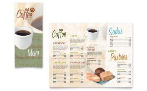 Printare meniuri de restaurant Cafenea ILY-STKL-23233