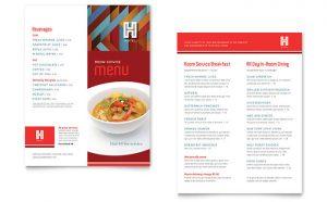 Printare meniuri de restaurant Hotel ILY-STKL-23191