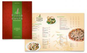 Printare meniuri de restaurant Italian ILY-STKL-23211