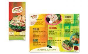 Printare meniuri de restaurant Mexican ILY-STKL-23231