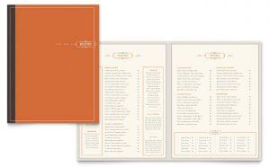 Printare meniuri de restaurant Pub ILY-STKL-23206