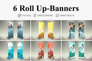 Roll-up Bannere profesionale ILY-CRM-8702