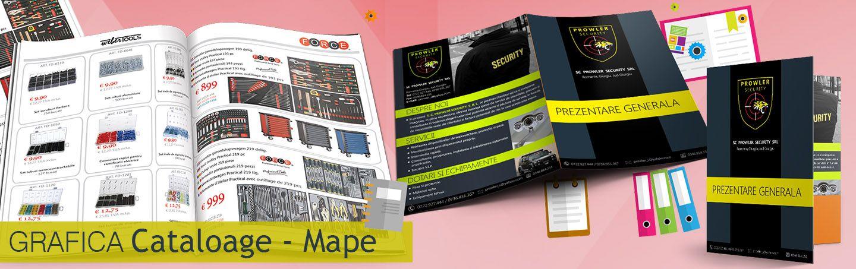 Grafica cataloage de prezentare , grafica mape